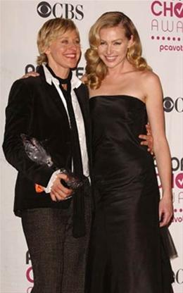 Ellen DeGeneres y Portia DeRossi